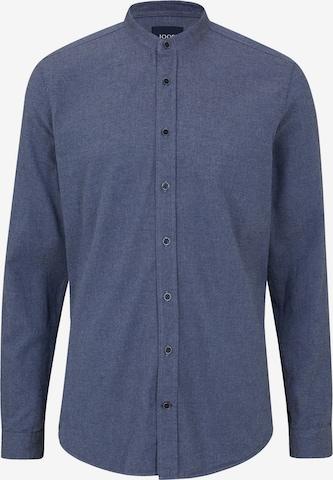 JOOP! Jeans Button Up Shirt 'Hedde' in Blue
