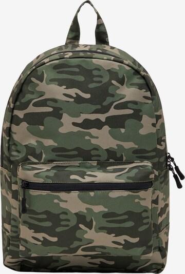 NAME IT Rucksack in khaki / tanne / dunkelgrün, Produktansicht