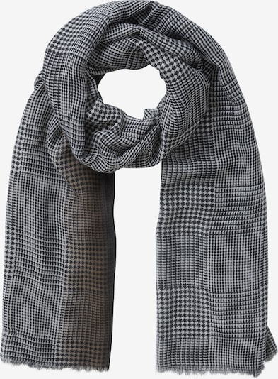 Betty Barclay Basic-Schal mit Farbverlauf in grau / schwarz / weiß, Produktansicht