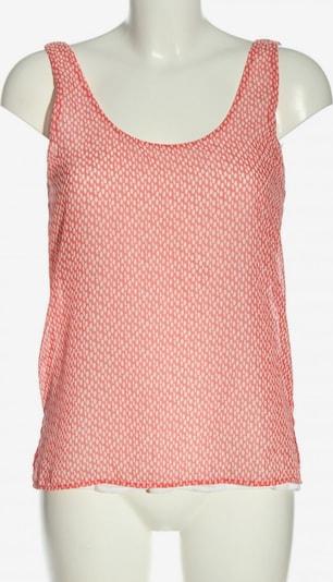 MANGO Blusentop in S in pink / wollweiß, Produktansicht