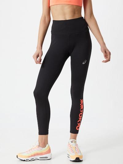 ASICS Sportovní kalhoty 'FUTURE TOKYO' - korálová / černá / bílá, Model/ka