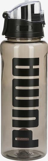 PUMA Trinkflasche in beige / schwarz, Produktansicht