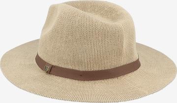 Brixton Hat 'MESSER STRAW FEDORA' in Brown