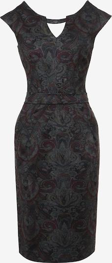 Madam-T Kleid in grau / schwarz, Produktansicht