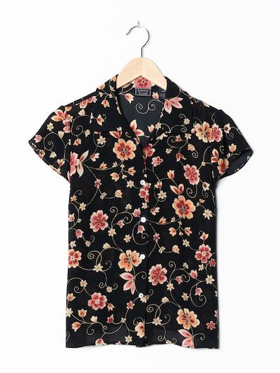 LAURA SCOTT Blumenbluse in XS-S in schwarz, Produktansicht