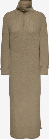 ONLY Knitted dress in Brown