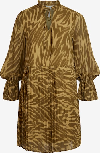 OBJECT Dress 'Zania' in brown / light brown, Item view