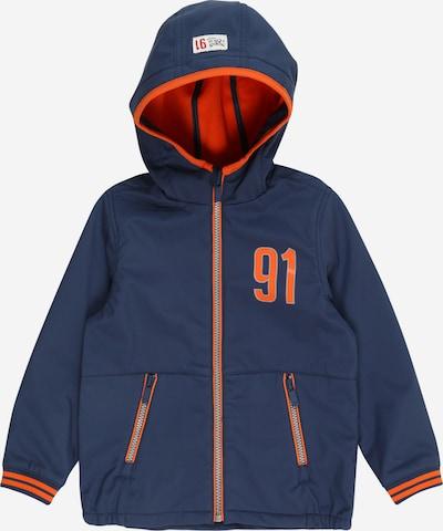 Noppies Prehodna jakna 'Loettown' | modra / oranžna barva: Frontalni pogled