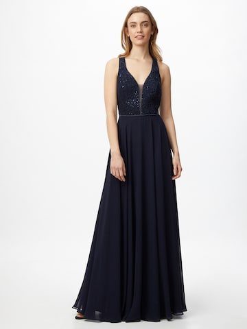 VM Vera Mont Evening Dress in Blue