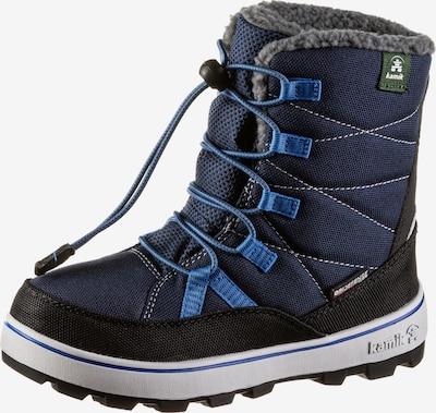 Kamik Stiefel 'Charlie' in cyanblau / dunkelblau / weiß, Produktansicht