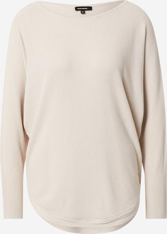 MORE & MORE Oversize pulóver - bézs