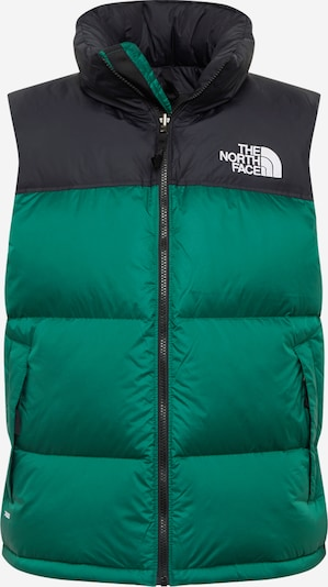 THE NORTH FACE Sportbodywarmer '1996 Retro Nuptse ' in de kleur Groen / Zwart, Productweergave