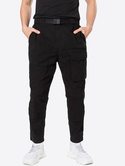 G-Star RAW Pantalon cargo en noir, Vue avec modèle