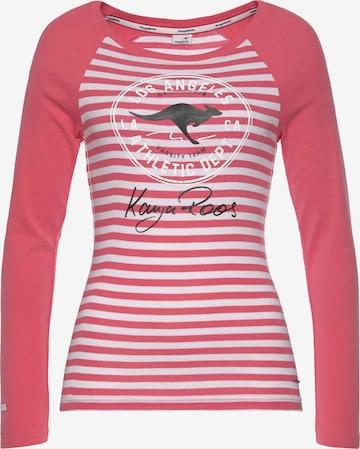 KangaROOS Shirt in Pink