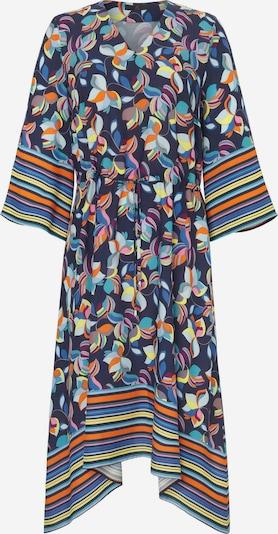 Emilia Lay Abendkleid Kleid mit 3/4-Arm in blau, Produktansicht