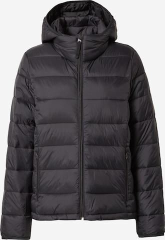 Abercrombie & Fitch Between-season jacket in Black
