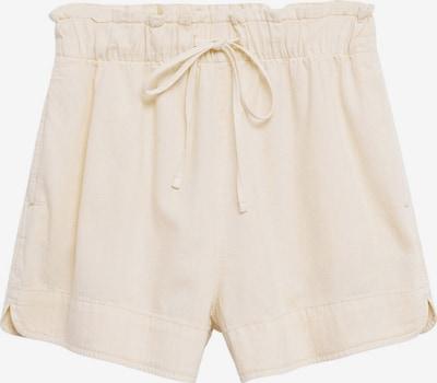 Pantaloni 'CORDI' MANGO pe alb murdar, Vizualizare produs