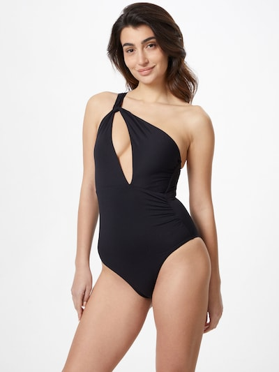 Seafolly Swimsuit in black, View model