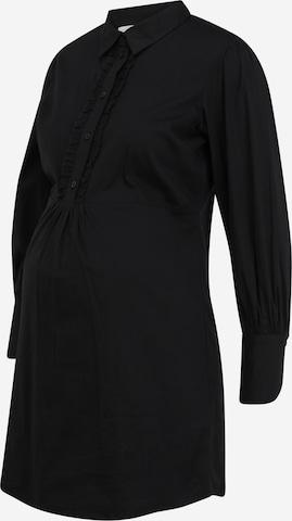 Camicia da donna 'SASIA' di MAMALICIOUS in nero