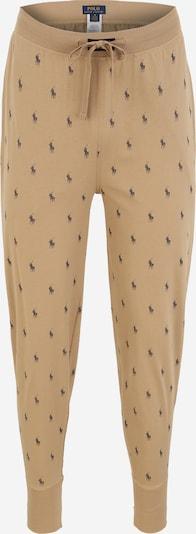 POLO RALPH LAUREN Pantalon de pyjama en sable / bleu foncé, Vue avec produit