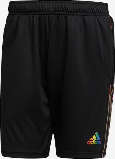 ADIDAS PERFORMANCE Sporthose in mischfarben / schwarz, Produktansicht