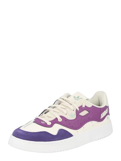 ADIDAS ORIGINALS Sneaker 'Supercourt' in helllila / dunkellila / weiß