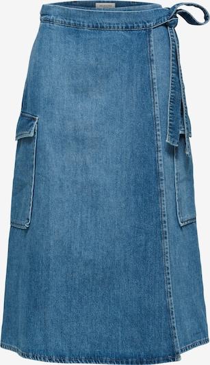 SELECTED FEMME Rok 'Mille' in de kleur Blauw denim, Productweergave