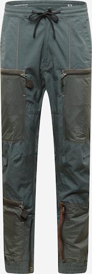 Pantaloni cu buzunare G-Star RAW pe gri argintiu / gri închis / portocaliu, Vizualizare produs