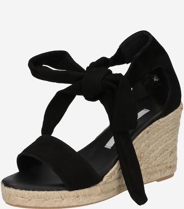 Sandale 'Selene' de la Fabienne Chapot pe negru