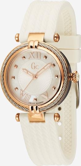 Gc Analógové hodinky 'Cable Chic' - ružové zlato / strieborná / biela, Produkt