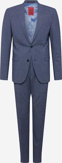 Costum 'AIDAN-MAX' STRELLSON pe albastru fum, Vizualizare produs