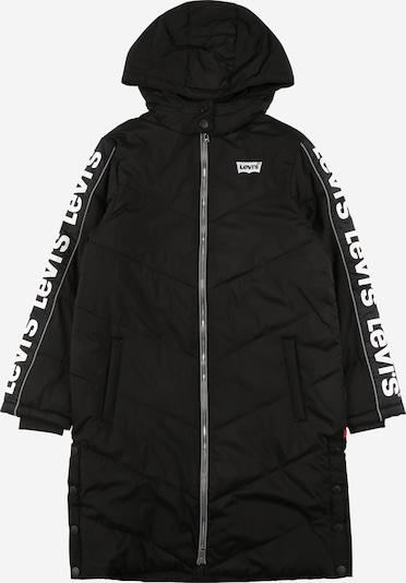 LEVI'S Kabát - čierna / biela, Produkt