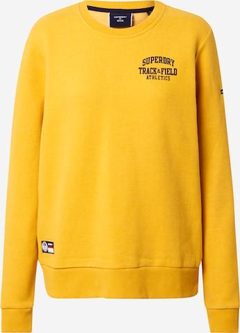 Superdry Sweatshirt in Gelb