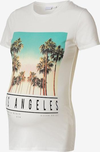 MAMALICIOUS Shirts 'Kia' i blandingsfarvet / hvid, Produktvisning
