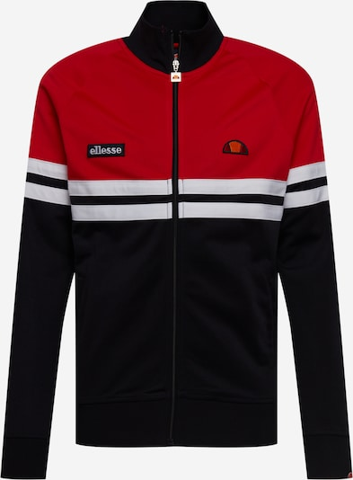 ELLESSE Tepláková bunda 'Rimini' - tmavomodrá / oranžová / červená / biela, Produkt