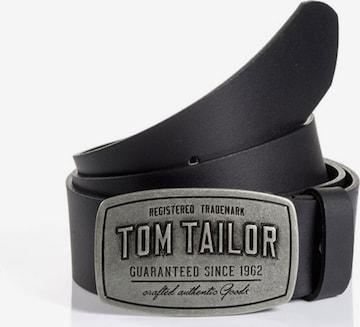 TOM TAILOR Bälte i svart