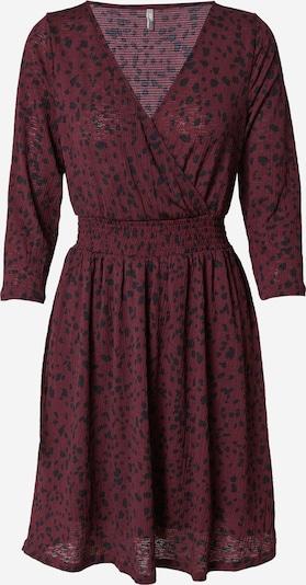ONLY Kleid 'PELLA' in dunkelrot / schwarz, Produktansicht