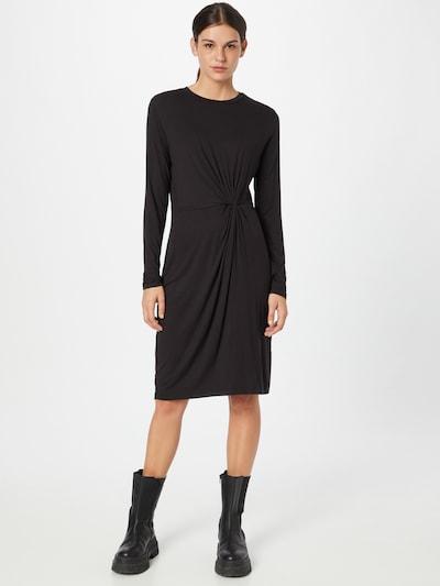 PIECES Obleka 'NEORA' | črna barva, Prikaz modela