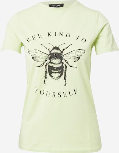 NEW LOOK Tričko - světle zelená / černá, Produkt