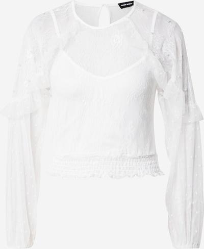 Bluză Tally Weijl pe alb natural, Vizualizare produs