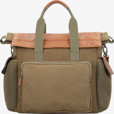 CAMEL ACTIVE Aktentasche 'Napoli' in khaki / orange, Produktansicht