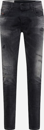 DIESEL Jeans 'STRUKT' in Black denim: Frontal view