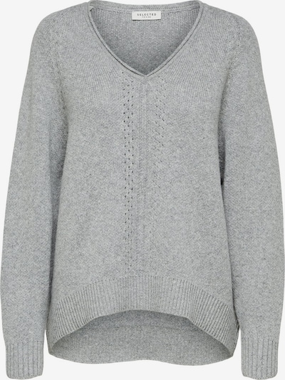 SELECTED FEMME Pullover in grau, Produktansicht