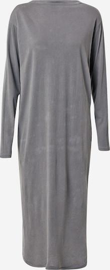 AMERICAN VINTAGE Robe 'Vegiflower' en gris basalte, Vue avec produit