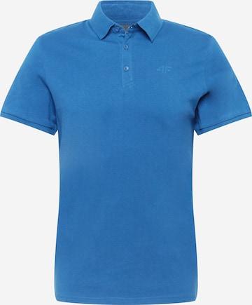 Tricou funcțional de la 4F pe albastru