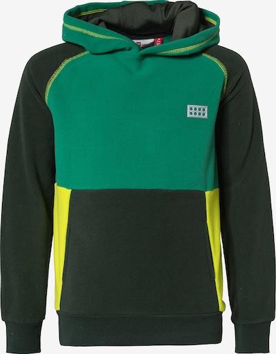 LEGO WEAR Sweatshirt in gelb / grün / schwarz, Produktansicht