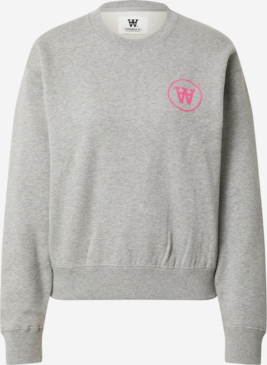 WOOD WOOD Sweatshirt 'Jess' i grå / rosa, Produktvy