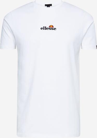 ELLESSE Shirt 'Muzze' in de kleur Geel / Olijfgroen / Zwart / Wit, Productweergave