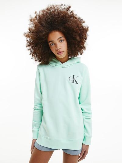 Calvin Klein Jeans Sweatshirt in mint: Frontalansicht