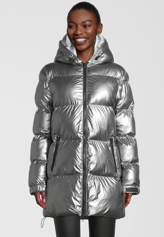 No. 1 Como Winter Coat 'OTTAVIA' in Grey
